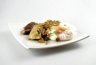 huevo-alcachofa-hongo