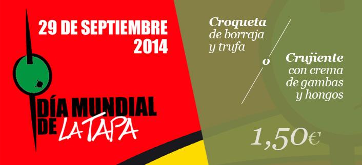 Celebra con nosotros el Día Mundial de la Tapa en Tudela-0