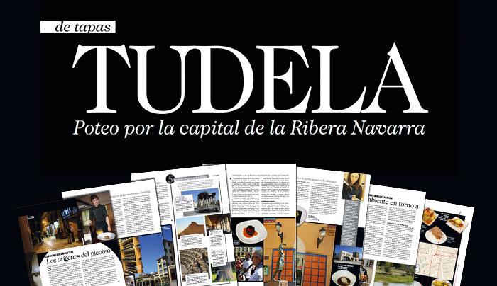 """La Revista """"deViajes"""" abre su reportaje sobre Tudela en el José Luis-0"""